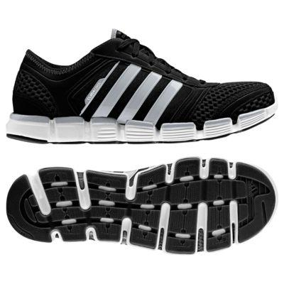 adidas CLIMACOOL Oscillation Mens Running Shoes- Black/White ...