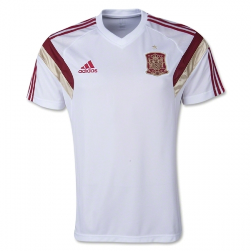 58a46f06cae Spain 2014 Training Jersey - White | Soccer Unlimited USA