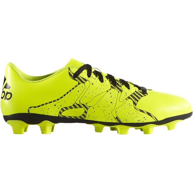 a4306ddd adidas Kids' X 15.4 FG/AG Soccer Cleat- Volt/Black