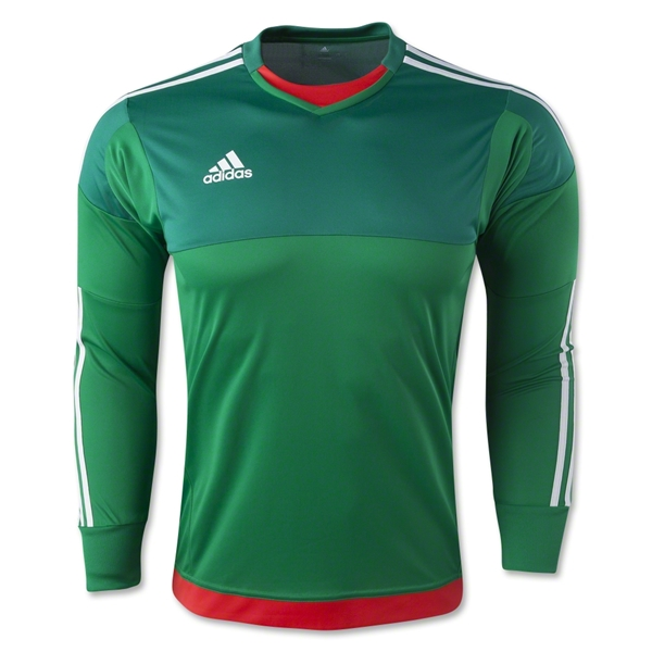 adidas Top 15 Youth GK Jersey - Green