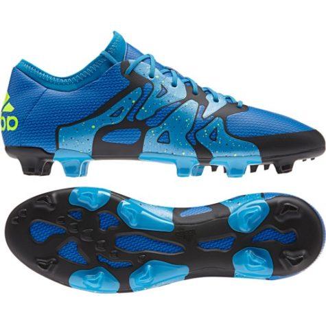 adidas X 15.1 FG Soccer Cleat- Blue