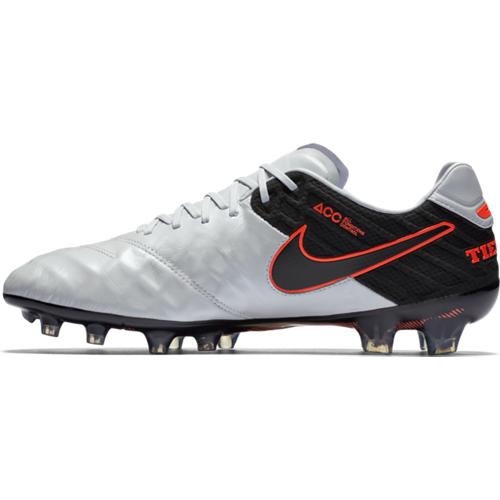 online store e6e09 49001 Nike Tiempo Legend VI FG Soccer Cleat - Pure Platinum/Black | Soccer  Unlimited USA