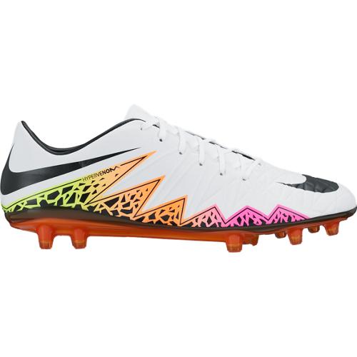 online store dde9f 037bd Nike Hypervenom Phatal II FG Soccer Cleat- White Total Orange