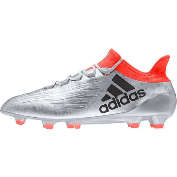 official photos bbcd3 684f7 adidas X 16.1 FG AG Soccer Cleat- Silver Solar Red   Soccer Unlimited USA