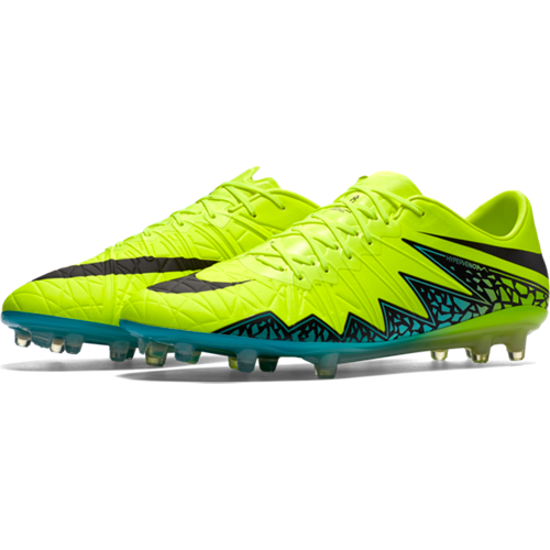 85c6a6540ce2 Nike Hypervenom Phinish FG Soccer Cleat- Volt/Hyper Turquoise | Soccer  Unlimited USA