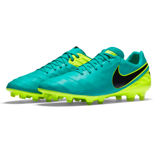 634812175 Nike Legacy II FG Soccer Cleat - Jade | Soccer Unlimited USA