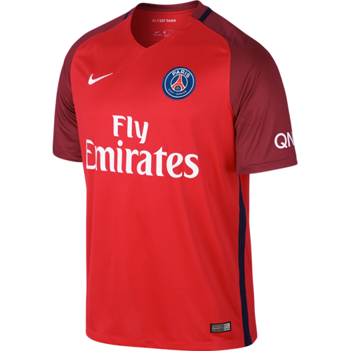 best authentic f2cb1 43107 PSG 16/17 Away Jersey