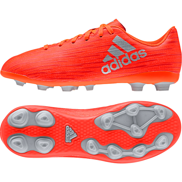 8aca4d20bf86 adidas Kids' X 16.4 FG/AG Soccer Cleat- Solar Red | Soccer Unlimited USA
