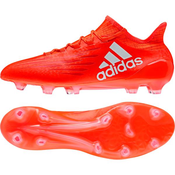 adidas X 16.1 FG/AG Soccer Cleat- Solar