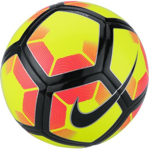 944243473f8 Nike Pitch Soccer Ball - Volt Black