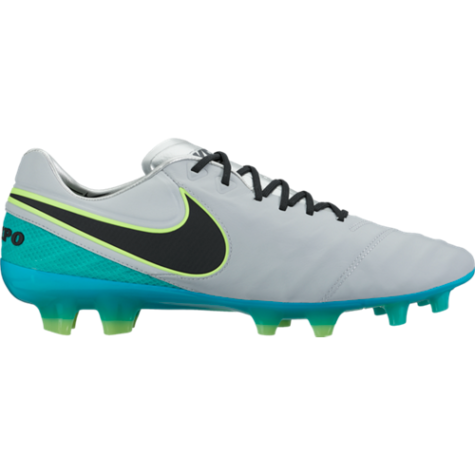 super popular 5ed81 b05e0 Nike Tiempo Legend VI FG Soccer Cleat - Wolf Grey/Black