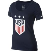 26154a767f9 USA Womens Crest Tee - Navy
