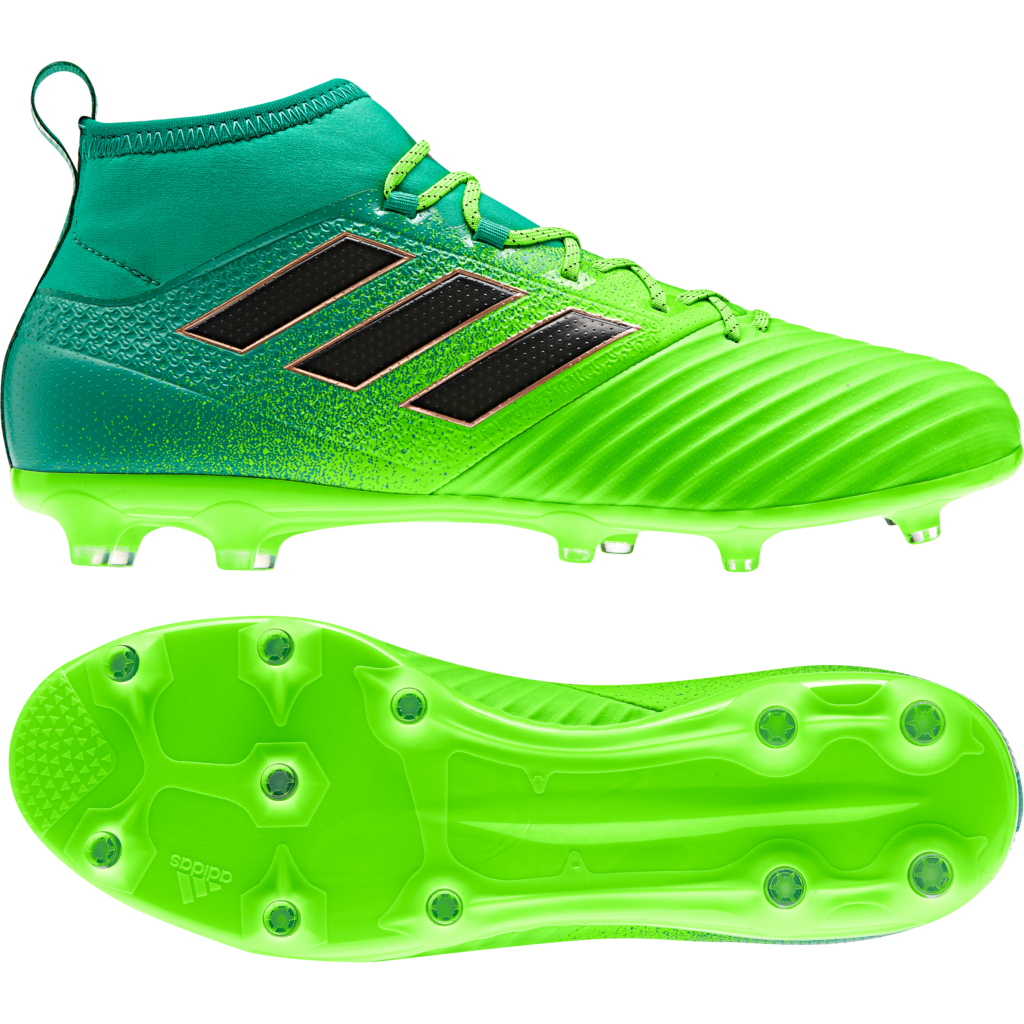adidas ACE 17.2 Primemesh FG Soccer Cleat- Solar Green ...