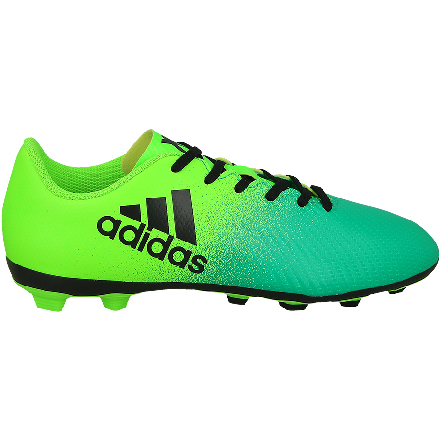 6dad419ad25d adidas Kids' X 16.4 FG/AG Soccer Cleat- Solar Green | Soccer ...