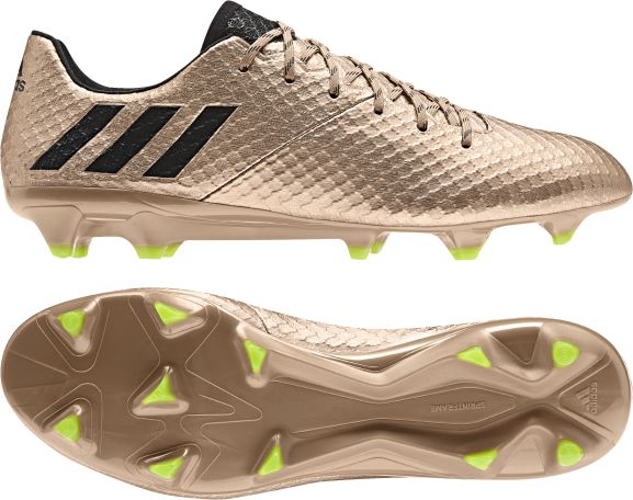 Peave Remisión mediodía  adidas Messi 16.1 FG Soccer Cleat- Copper   Soccer Unlimited USA