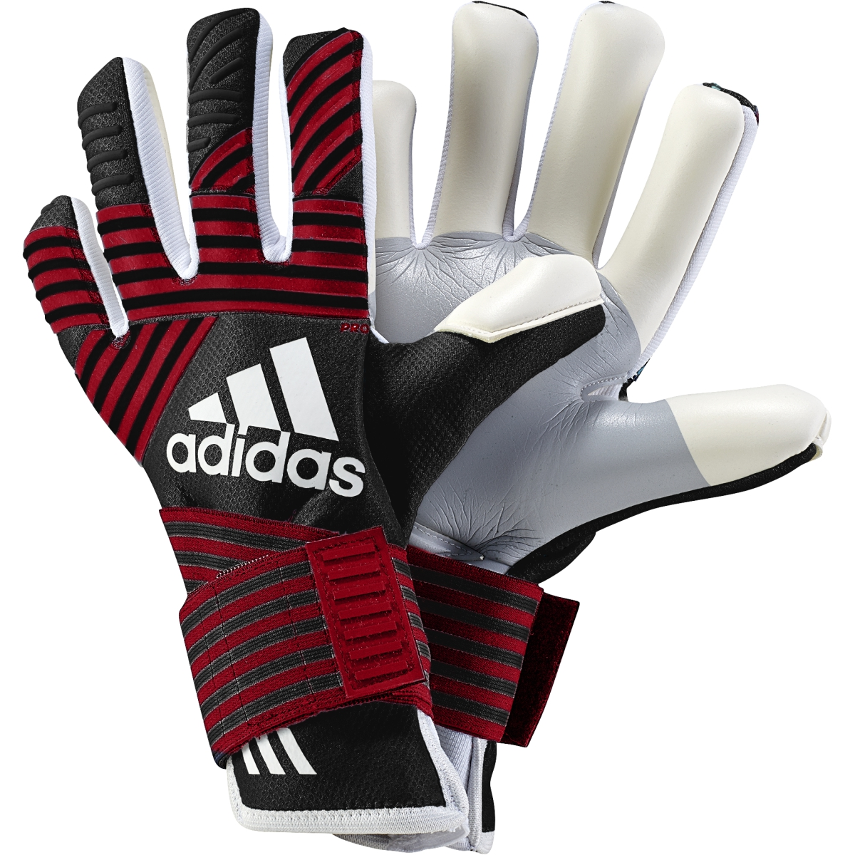 new product bf88c c2fdf adidas Ace Trans Pro GK Glove - Black/Red | Soccer ...