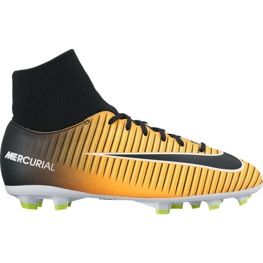 new style c5075 645da Nike Mercurial Victory VI Kids Dynamic Fit FG Soccer Cleat - Laser  Orange/Black