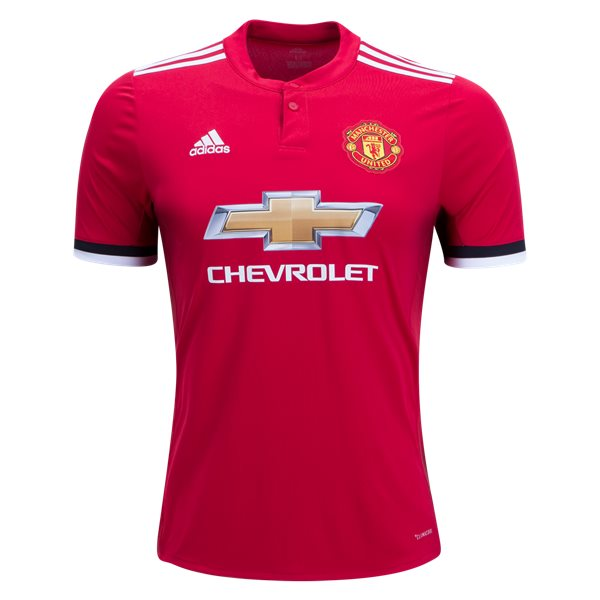 9ee5fb6bf adidas Manchester United 17 18 Home Jersey