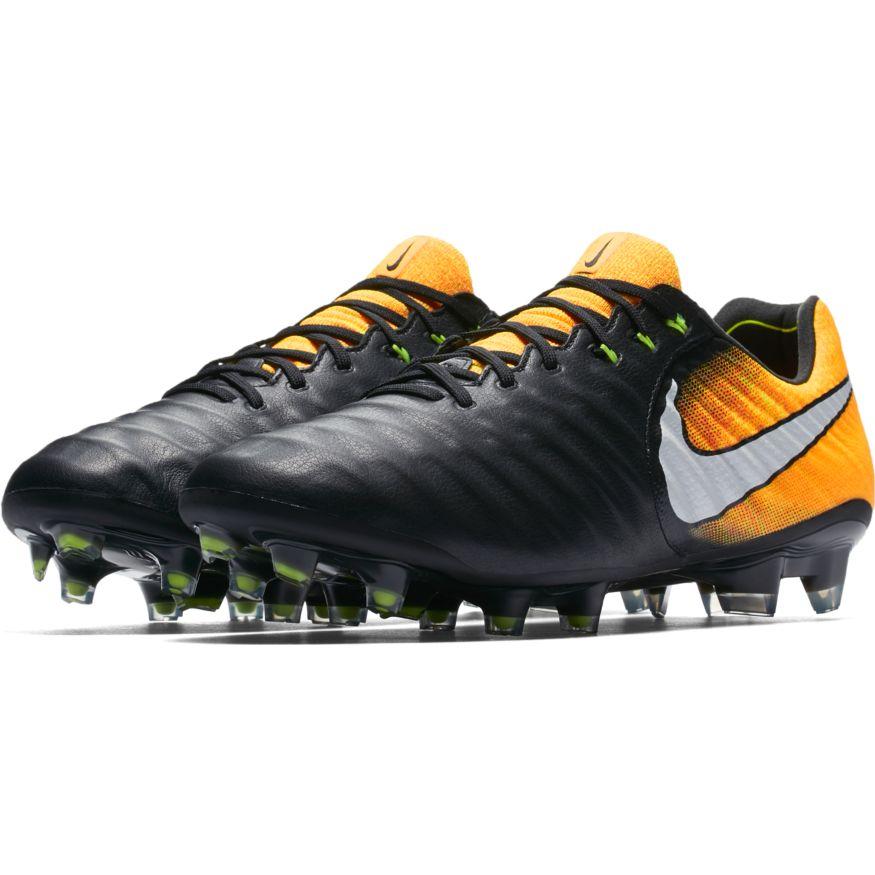den bästa attityden köpa springa skor Nike Tiempo Legend VII FG Soccer Cleat - Black/Laser Orange ...