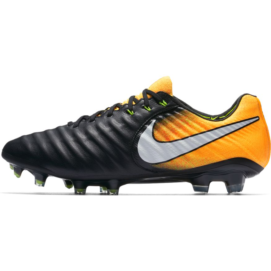 the latest 4a3a8 8a96b Nike Tiempo Legend VII FG Soccer Cleat – Black Laser Orange