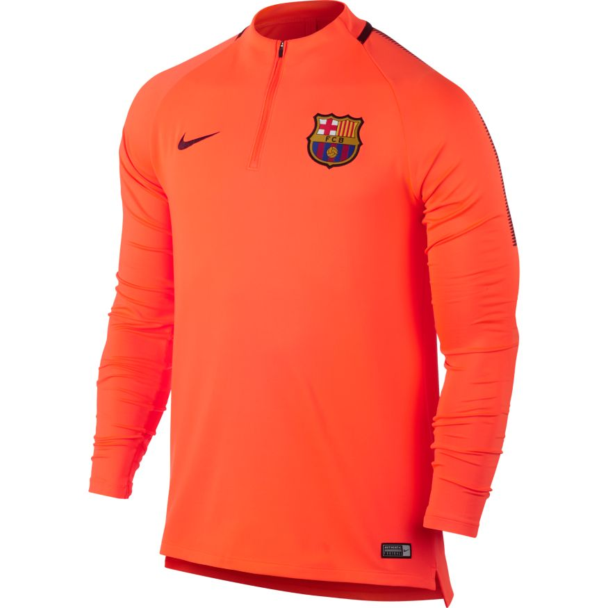 bcf105c6b82 Nike Barcelona 17 18 Drill Top - Hyper Crimson