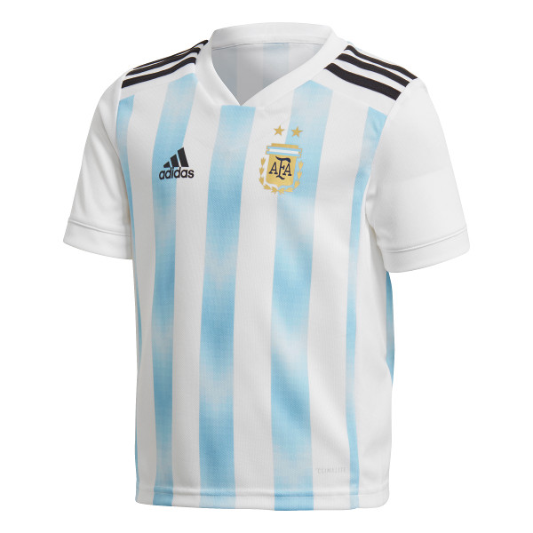 149b5cbc09e adidas Argentina Home Jersey - White Clear Blue