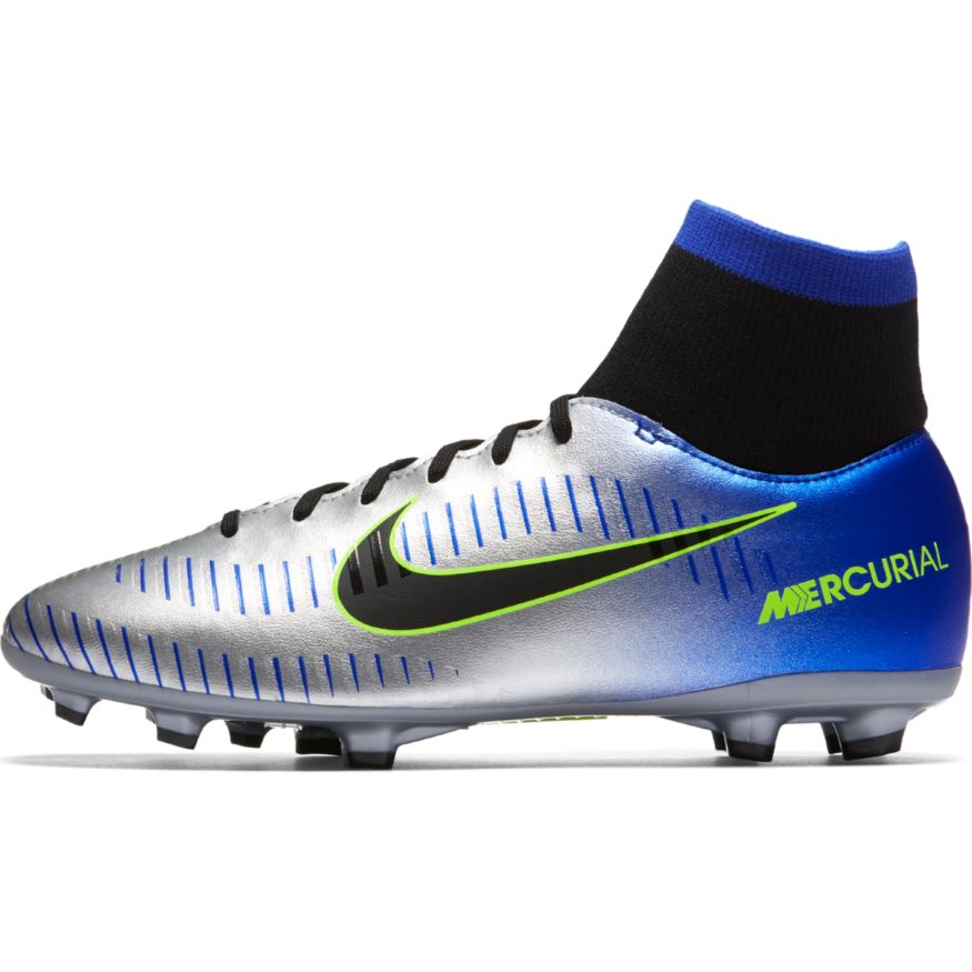 check out 855e0 7b0bc Nike Youth Neymar Jr. Mercurial Victory VI Dynamic Fit FG Soccer Cleat t –  Racer Blue Black