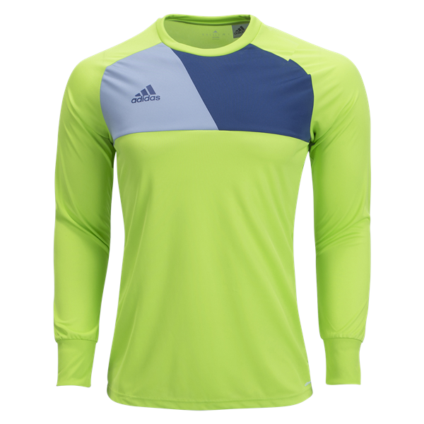 dc2b366d3 adidas Assita 17 GK Jersey Youth - Solar Slime/Night Marine | Soccer ...
