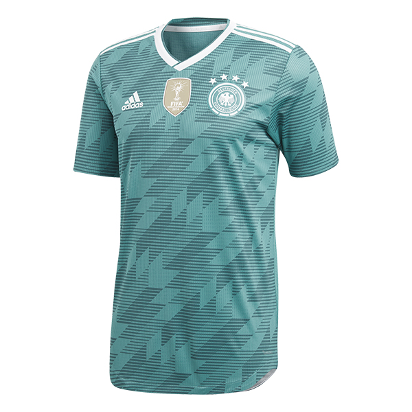 adidas Germany Away Jersey - Equipment Green/White | Soccer ...
