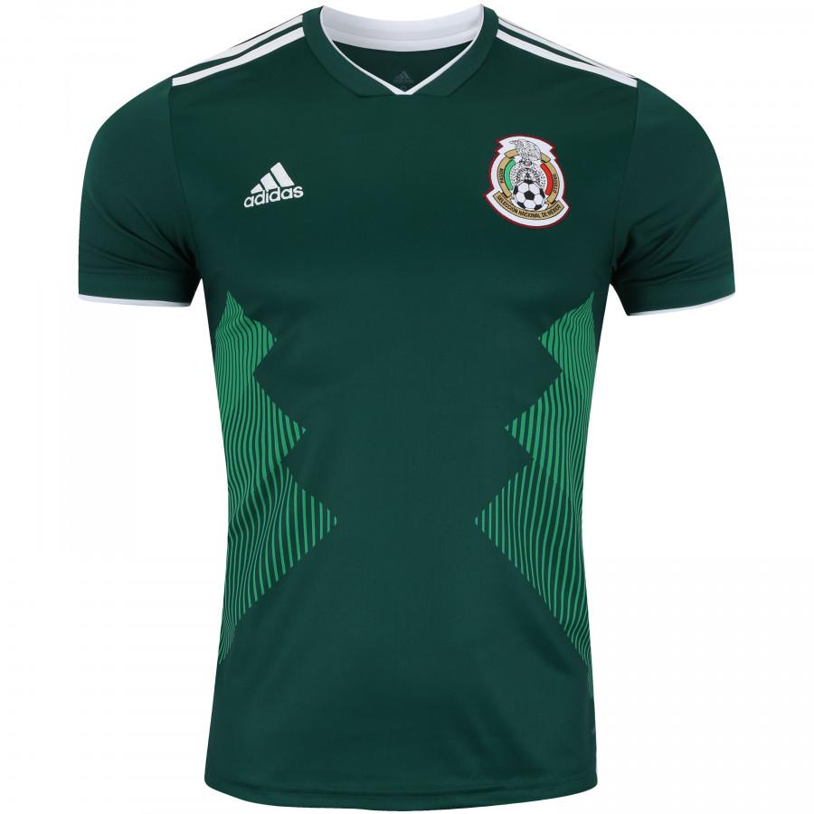 Adidas Mexico Home Jersey Collegiate Green White