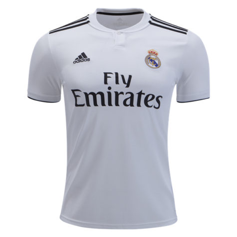sports shoes e9a8a da3f8 adidas Real Madrid Home Jersey Youth - White/Black
