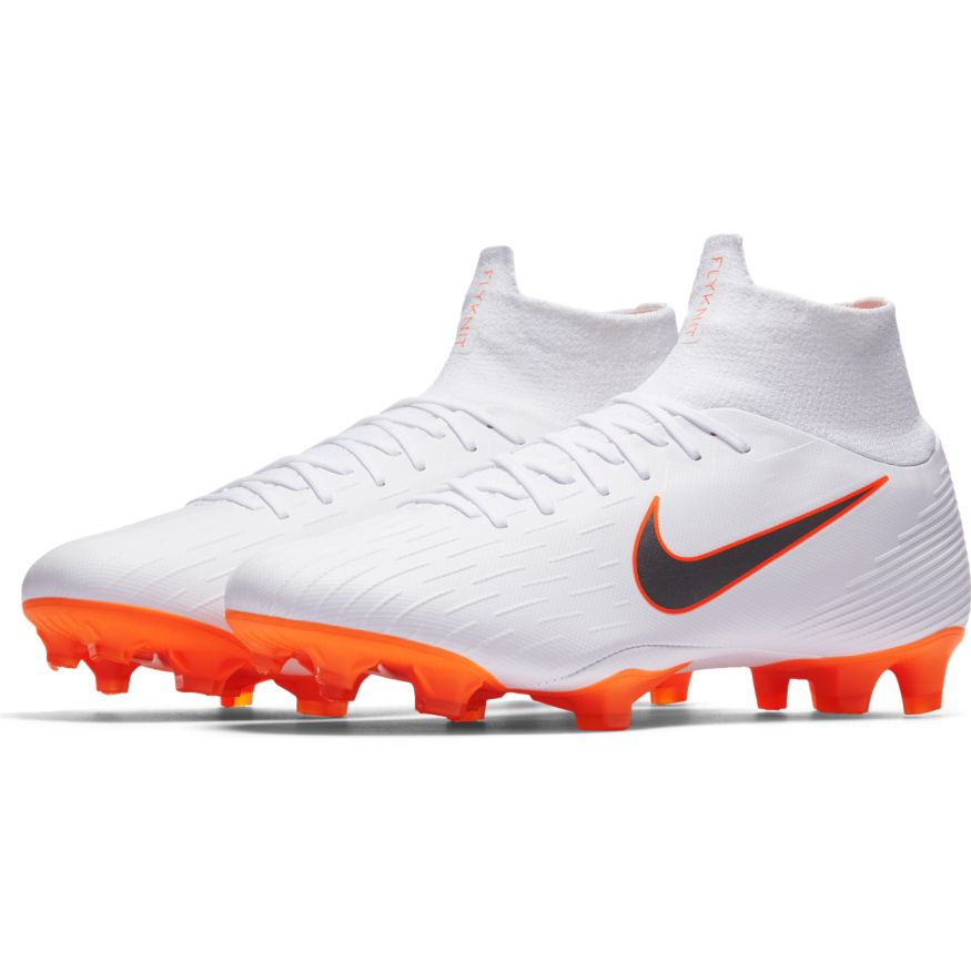 Nike Superfly 6 Pro Fg Soccer Cleat White Metallic Cool