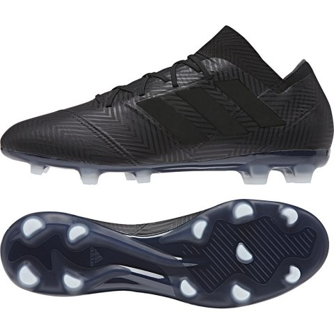 f206d8708 adidas Nemeziz 18.2 FG Soccer Cleat- Black/White | Soccer Unlimited USA