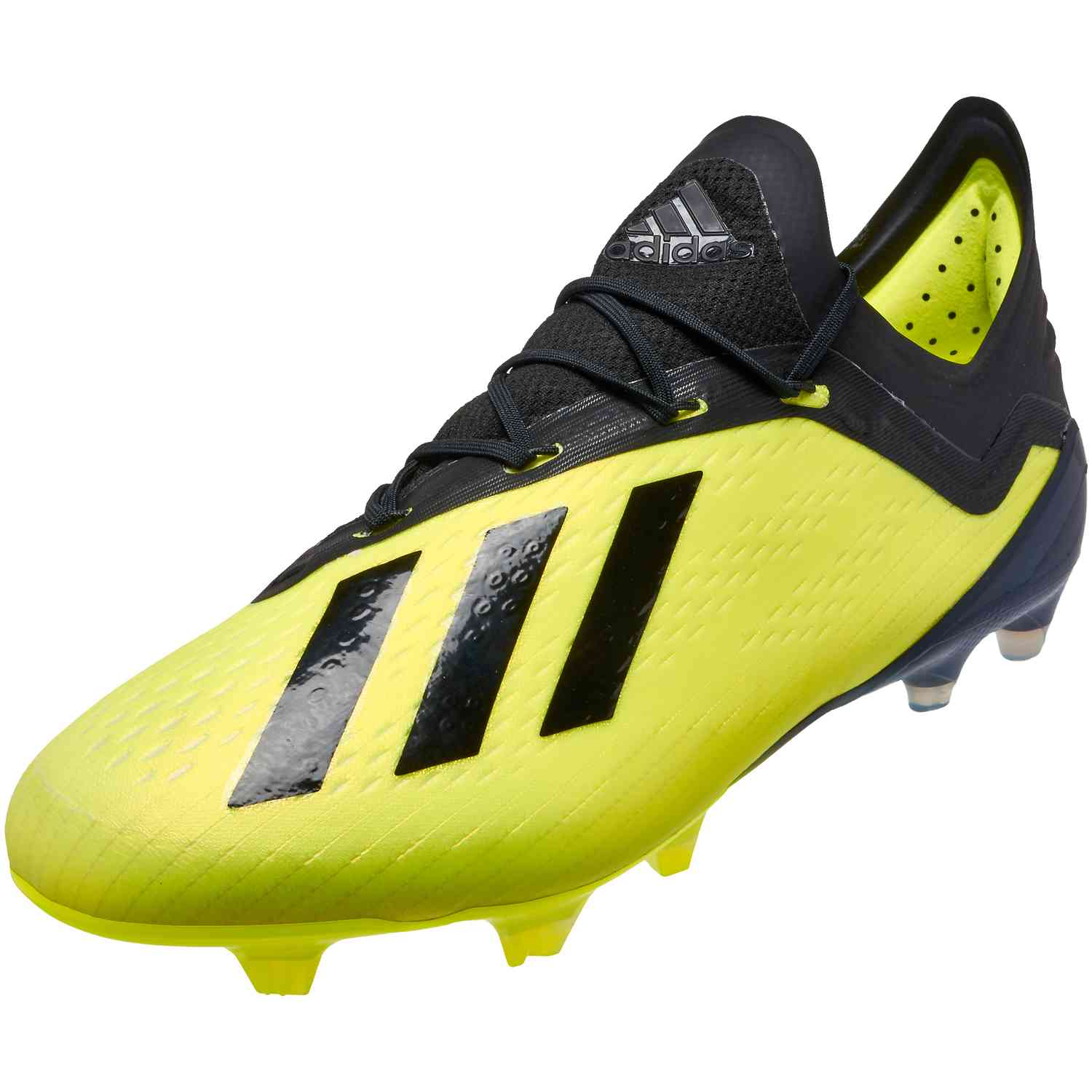 f5f9bed39cec adidas X 18.1 FG Soccer Cleat- Solar Yellow/Black/White | Soccer ...