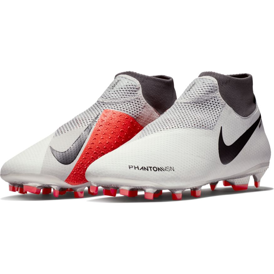 07c45b90ef7 Nike HyperVenom Phantom Vision Pro Dynamic Fit FG Soccer Cleat- Pure  Platinum Black