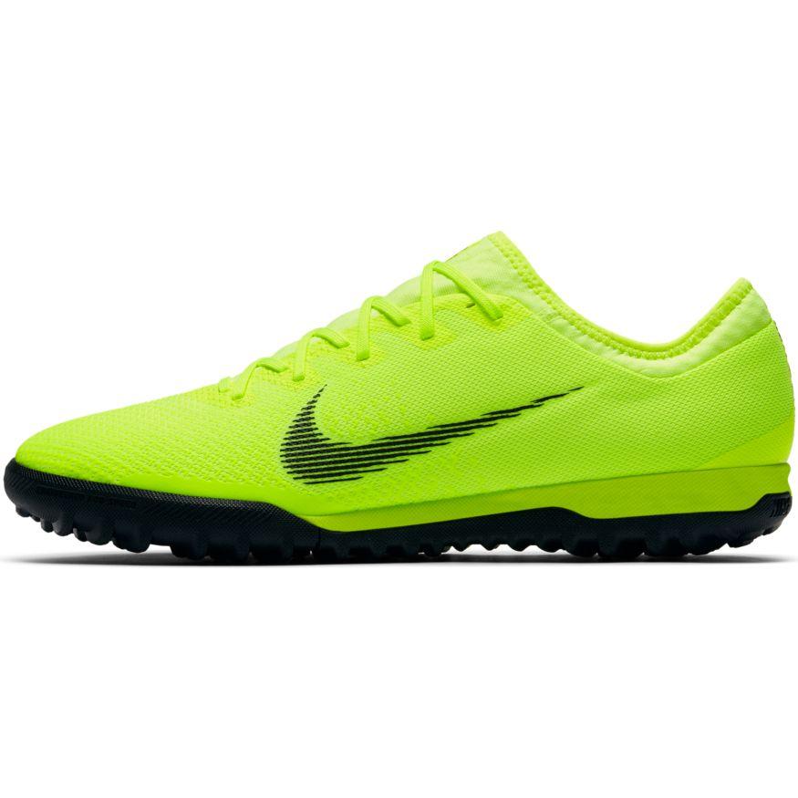 62e8826f015 Nike VaporX 12 Pro Artificial-Turf Soccer Cleats – Volt Black. Sale!