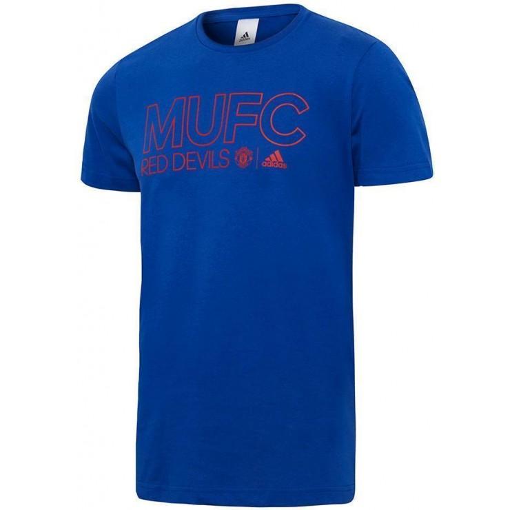 9a9dc7f7 adidas Manchester United FC T-Shirt – Royal