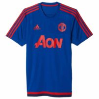 ffea9e852d8 adidas Manchester United Training Top Mens - Navy Red