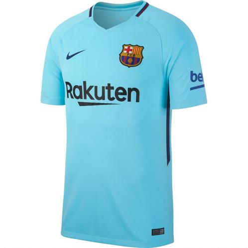 a43d61032 Nike Barcelona Away Jersey Mens 2017 2018 - Teal