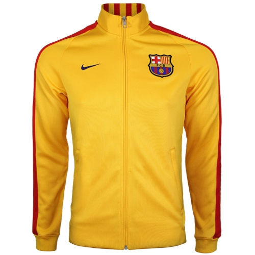 ba479edb6 Nike Barcelona N98 Track Jacket Mens - Yellow/Red | Soccer Unlimited USA