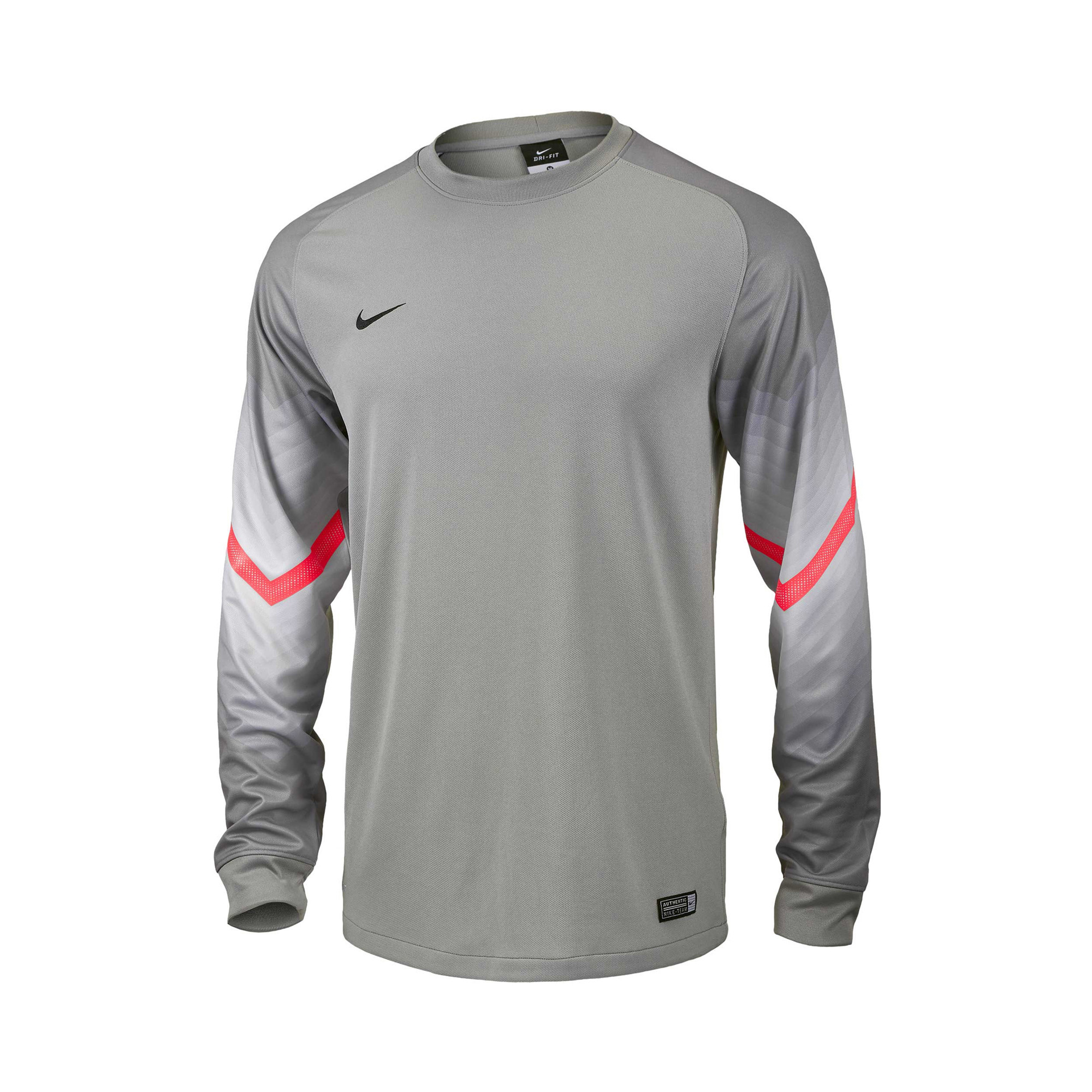 afcc3fc9e Nike Goleiro GK Jersey - Grey | Soccer Unlimited USA