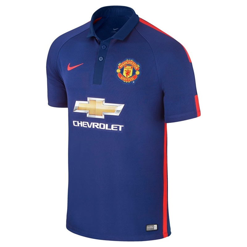 a264432e8 Nike Manchester United 3rd Jersey Mens – Royal Blue