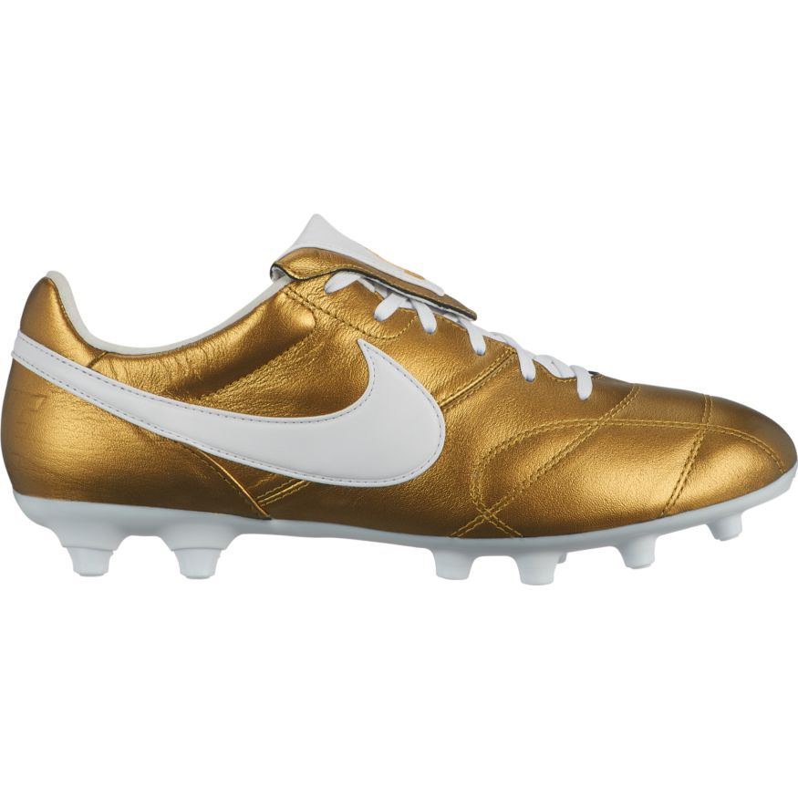 10baaf55f Nike Premier II FG Soccer Cleat - Metallic Vivid Gold White
