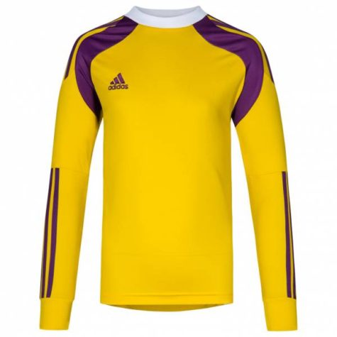 0813dfc4ee3 adidas Onore 14 Youth GK Jersey - Gold Purple