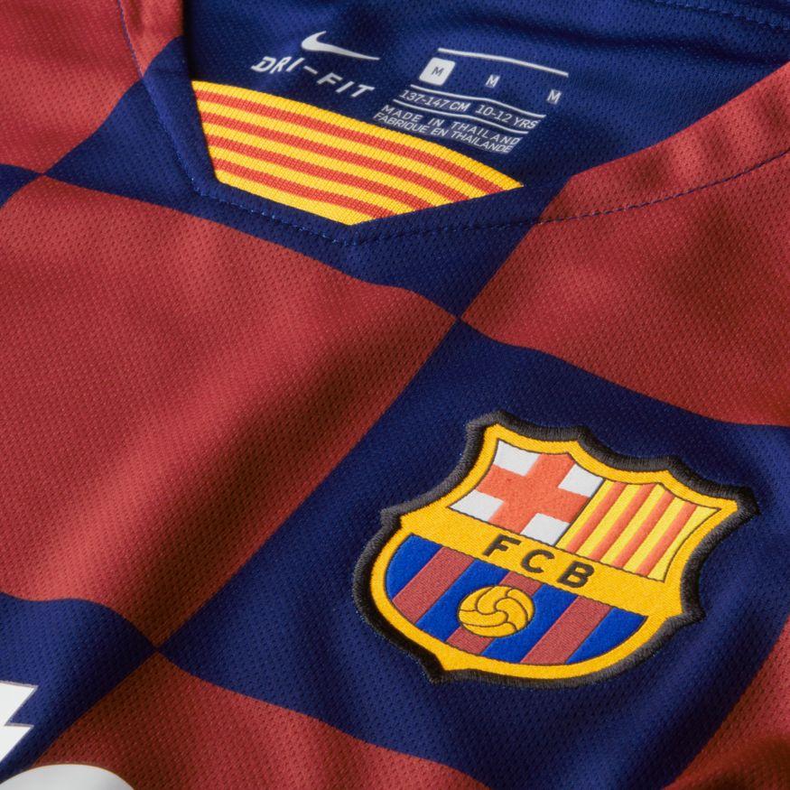 2a94937552f Nike Barcelona Youth Breathe Stadium Jersey Home - Deep Royal Blue/Varsity  Maize | Soccer Unlimited USA