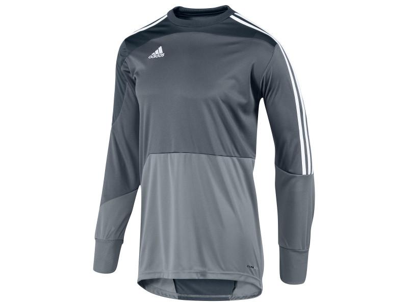 adidas Men's Mundial Goalkeeper Jersey - Gray | Soccer Unlimited ...