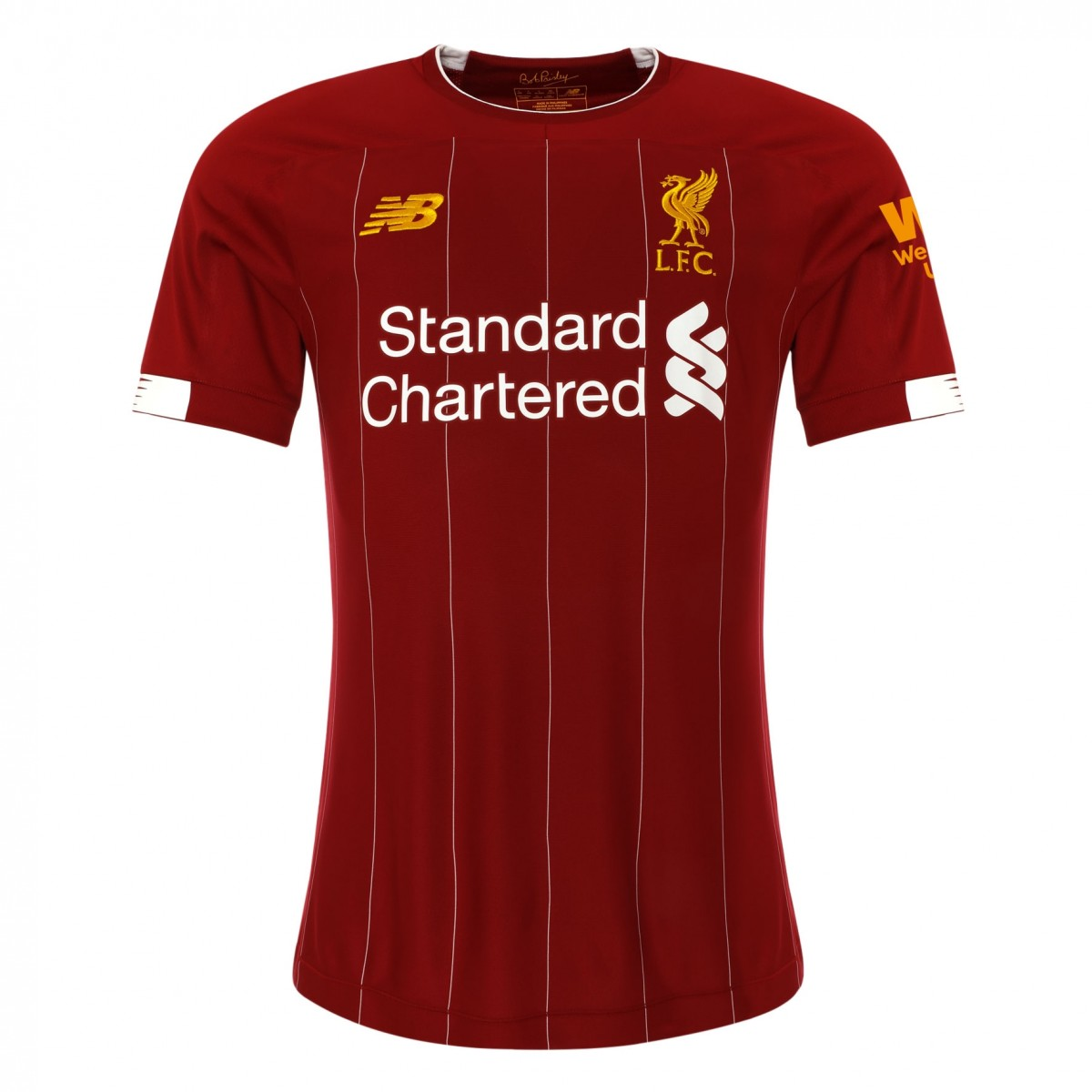 New Balance Liverpool Home Jersey - Red/White/Gold
