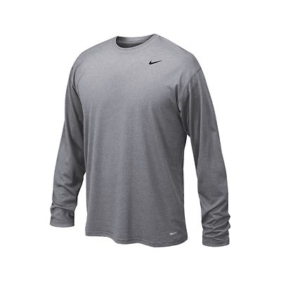 075897c38 Nike Legend T-Shirt Long Sleeve - Grey | Soccer Unlimited USA