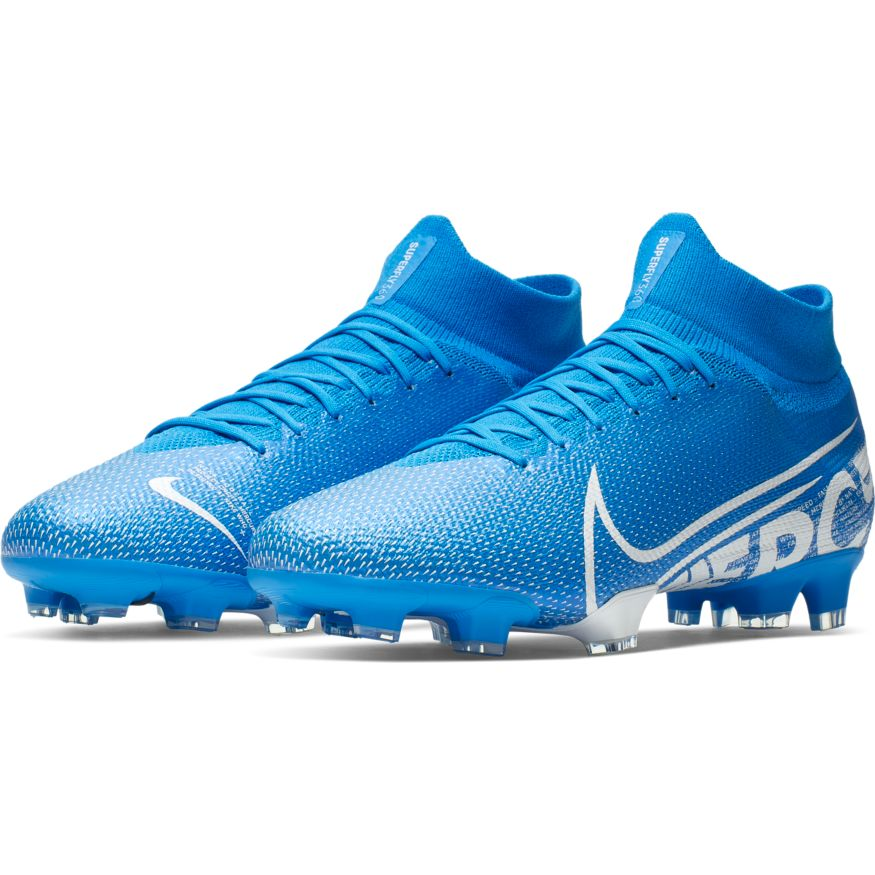 sports shoes 7f57c 6f9df Nike Superfly 7 Pro FG Soccer Cleat - Blue Hero/White-Obsidian