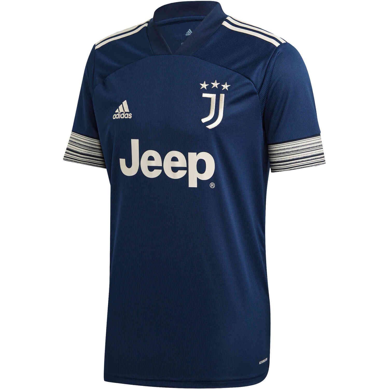 addias Juventus FC Away Jersey - Night Indigo/Alumina